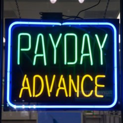 A Payday Advance is fast, easy, and has much less red tape than a traditional loan